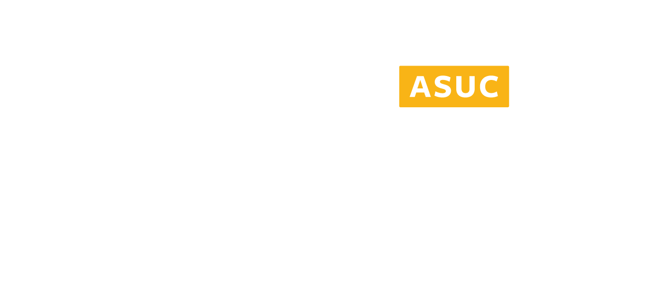 Student Union Logo in white for download
