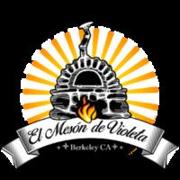 el meson de violeta logo