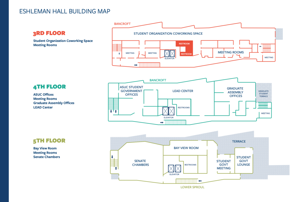 Map of Eshleman Building for download