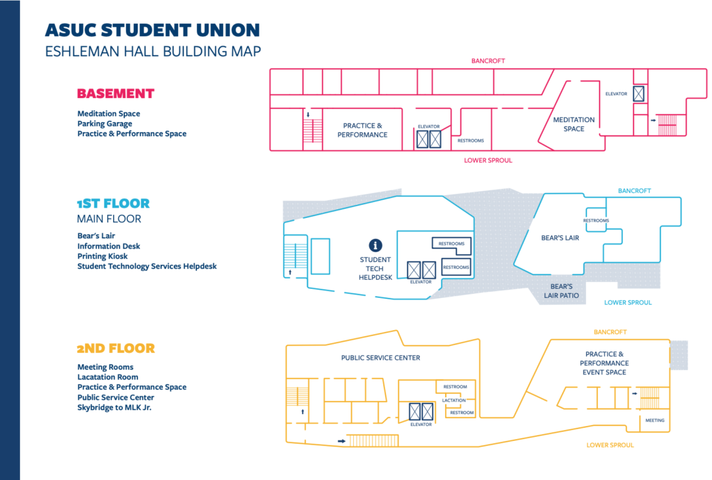 Map of MLK Building for download
