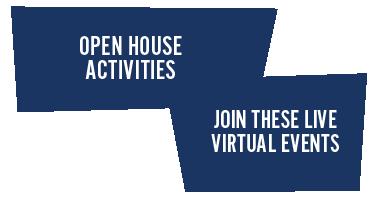 Open House Activities graphic