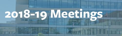2018 through 2019 meetings image