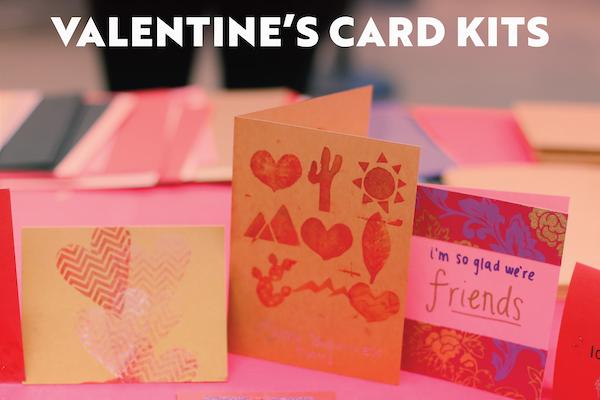 pick up a valentine's day card kit